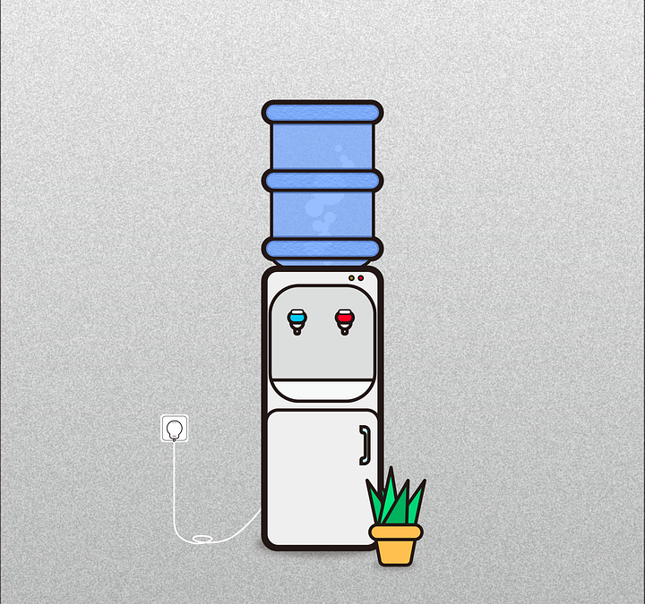 Dozatoare de apa – utile acasa, la birou, oriunde
