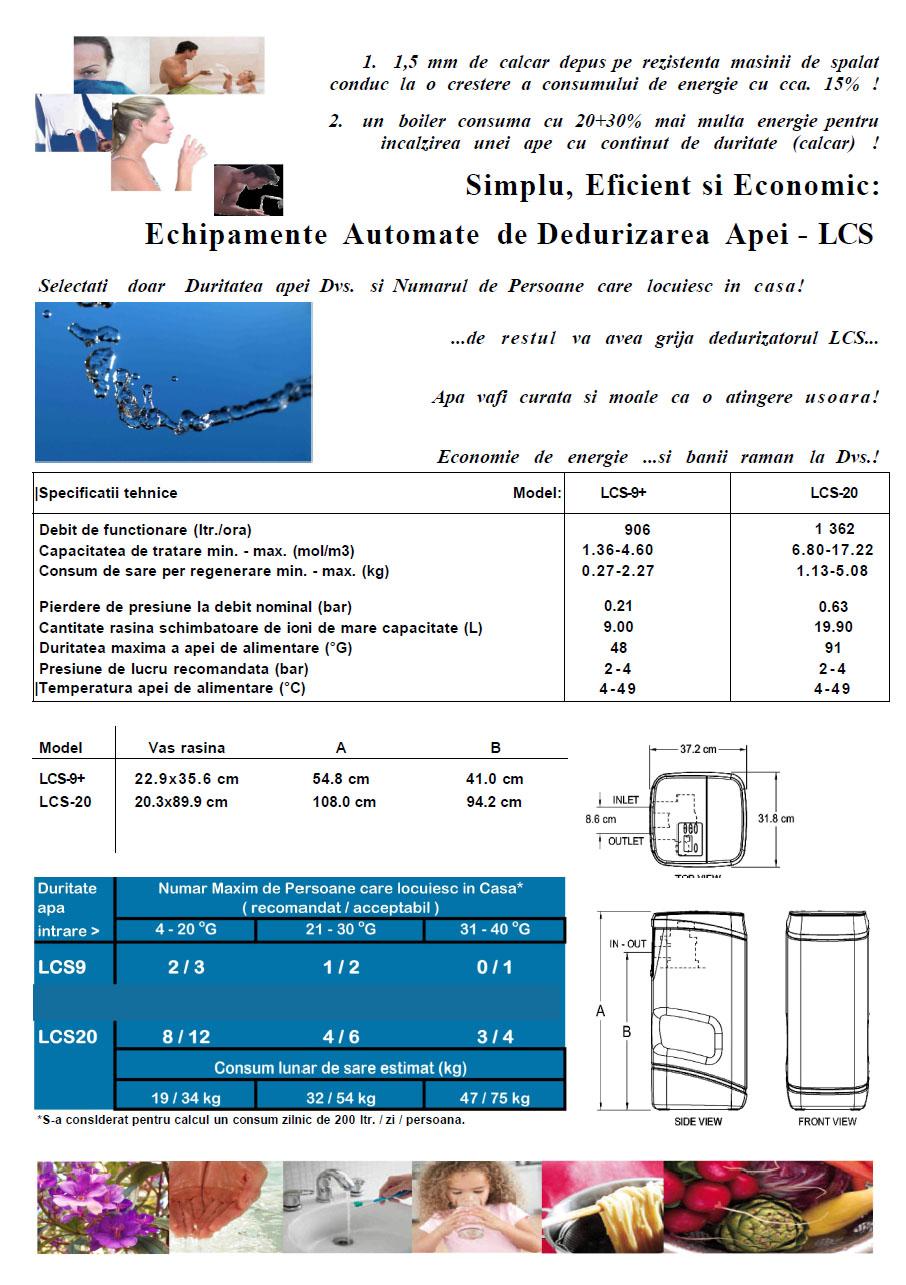 Dedurizare_apa LCS9-LCS20