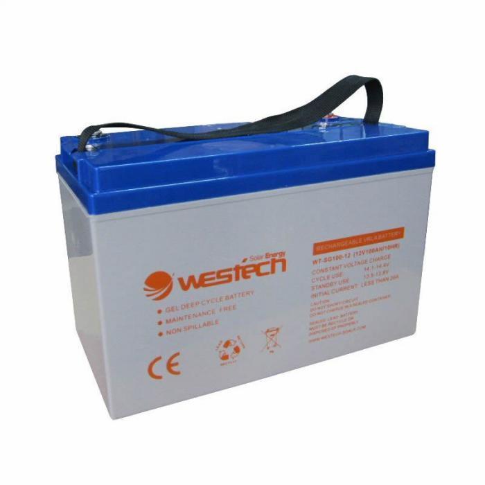 Acumulator cu gel 55Ah 12V W-SG05512-big