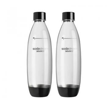 Set 2 sticle carbonatare